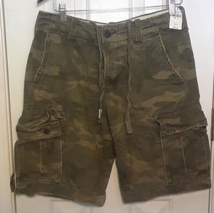 Nwt Camo Cargo Shorts ABERCROMBIE FITCH MENS 32